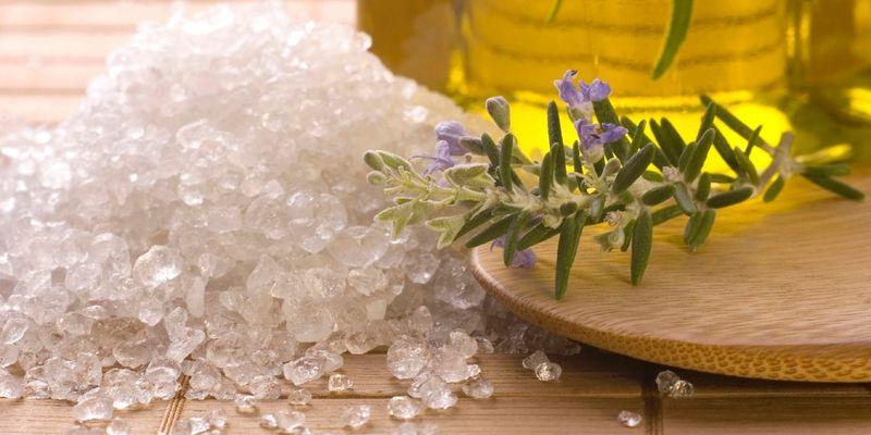лечение морская соль